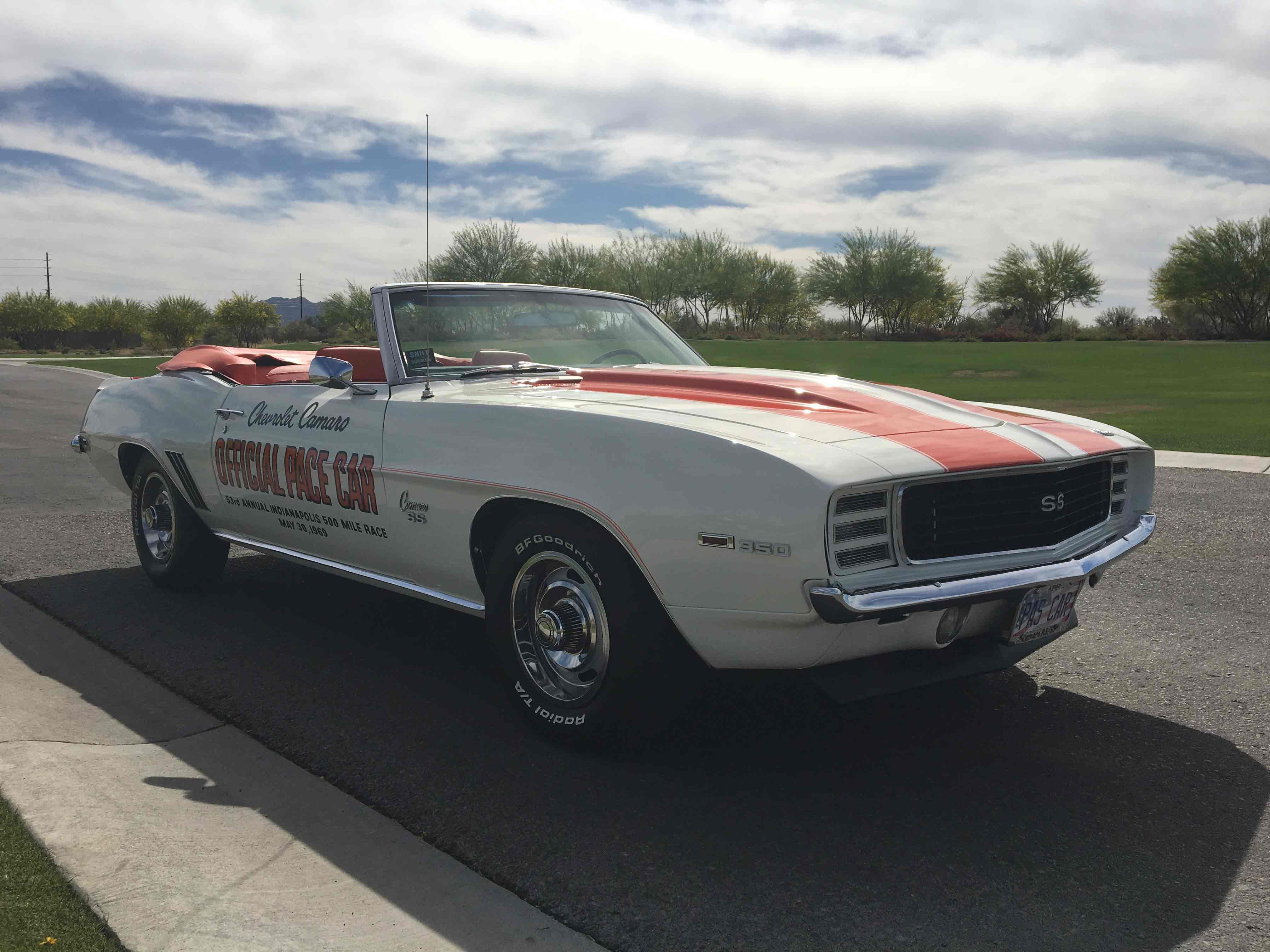 Camaro Ss 1969 >> 1969 Camaro SS / RS Indy Pace Car - Alpio's At Troon
